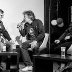 Moderator Christoph Nagel, Wolfgang Niedecken und Stuart Dykes