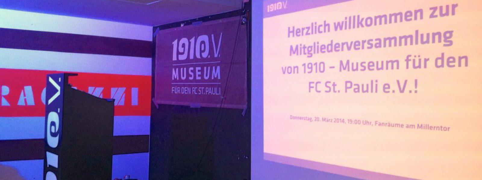 Jahreshauptversammlung: 1910 e.V. mit 50.000 Euro Gewinn