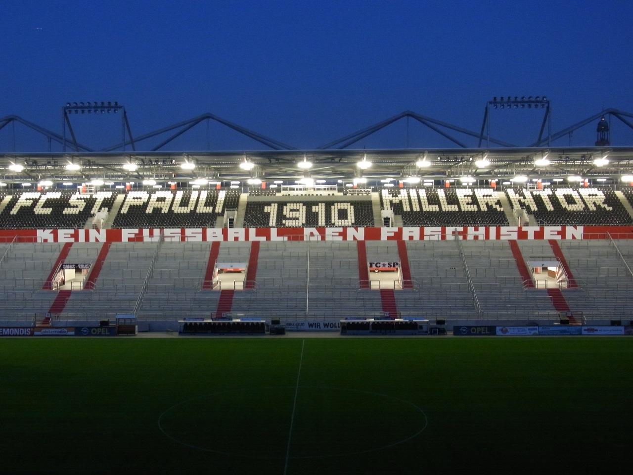 STELLENAUSSCHREIBUNG Leiter/in Stadionführungen Millerntor-Stadion