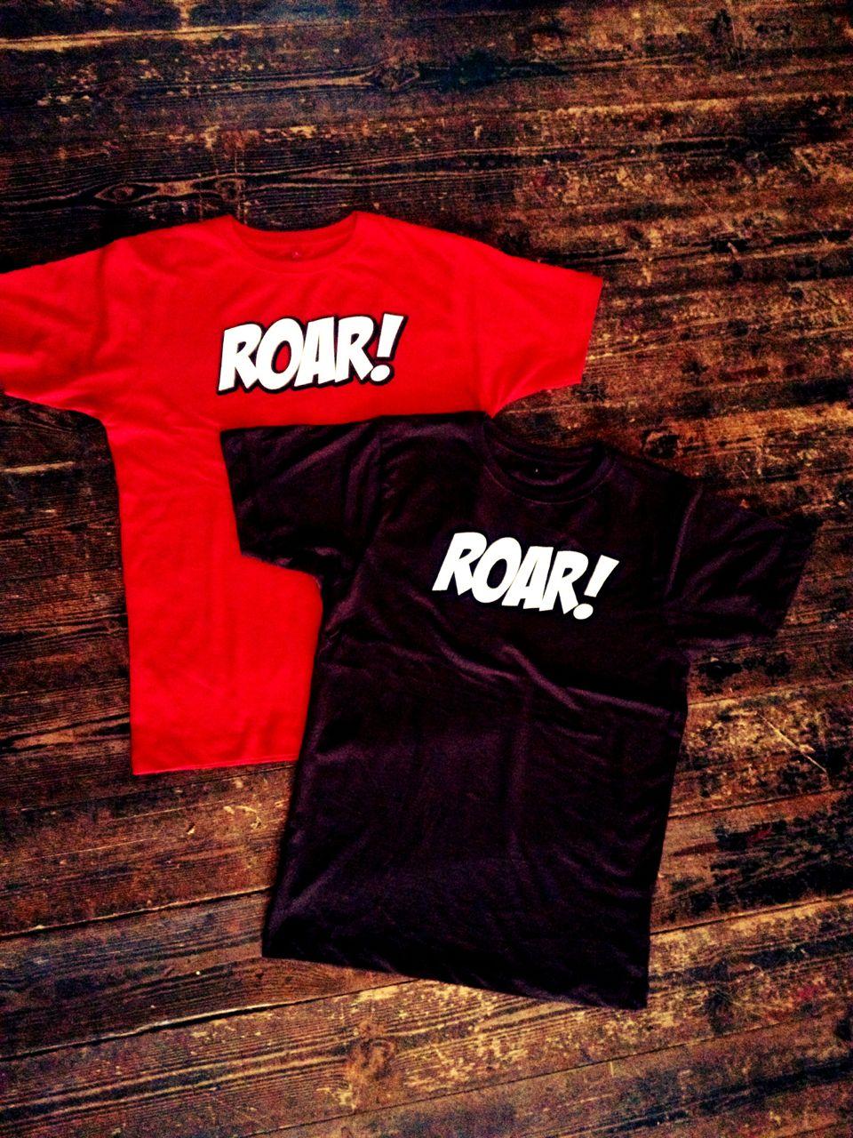Das Shirt zum ROAR! (Making of)