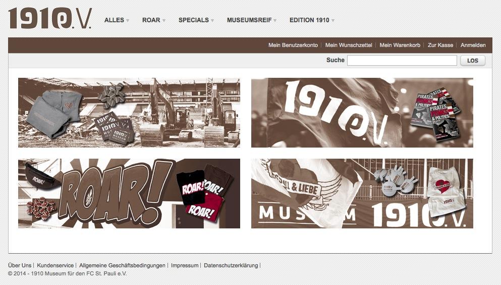 Shirts, Schals, Bücher und mehr: Online shoppen - Museum bauen!