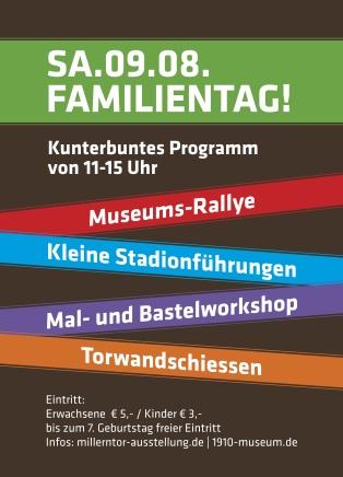 Familientag: kunterbuntes Programm in der Millerntor-Ausstellung