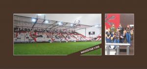 Die individuelle Figur im Miniatur-Millerntor - ein ideales Geschenk für alle St. Pauli-Fans.