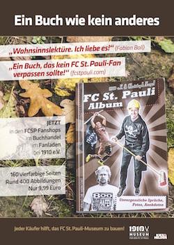 Ein Buch wie kein anderes: Das FC St. Pauli Album von Christoph Nagel in der Edition 1910
