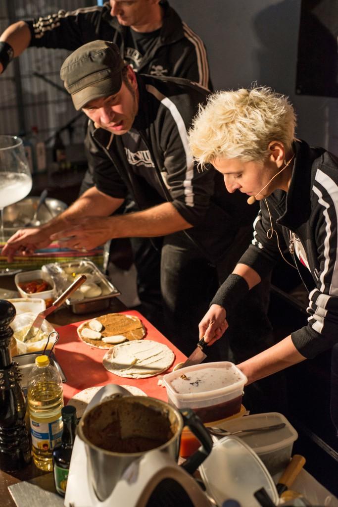 Elf (hinten), Ole und Nici in Action. Foto: Ariane Gramelspacher, www.arigrafie.de
