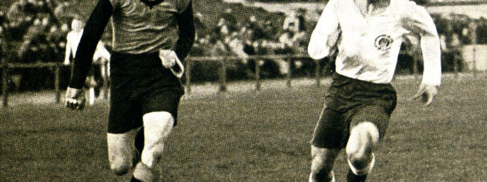Harald Stender im Einsatz Foto FC St Pauli das Buch