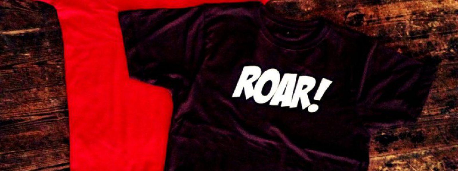Roar-Shirt fertig