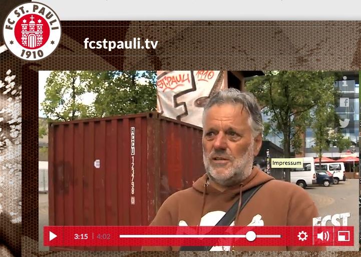 Rainer Klinitzki im Interview. Einfach das Bild anklicken, um den ganzen Beitrag zu sehen!